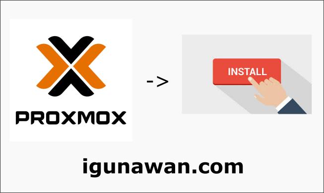 Cara Install Proxmox VE (v6.2-1)